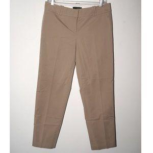 Ann Taylor khaki cutoff pants
